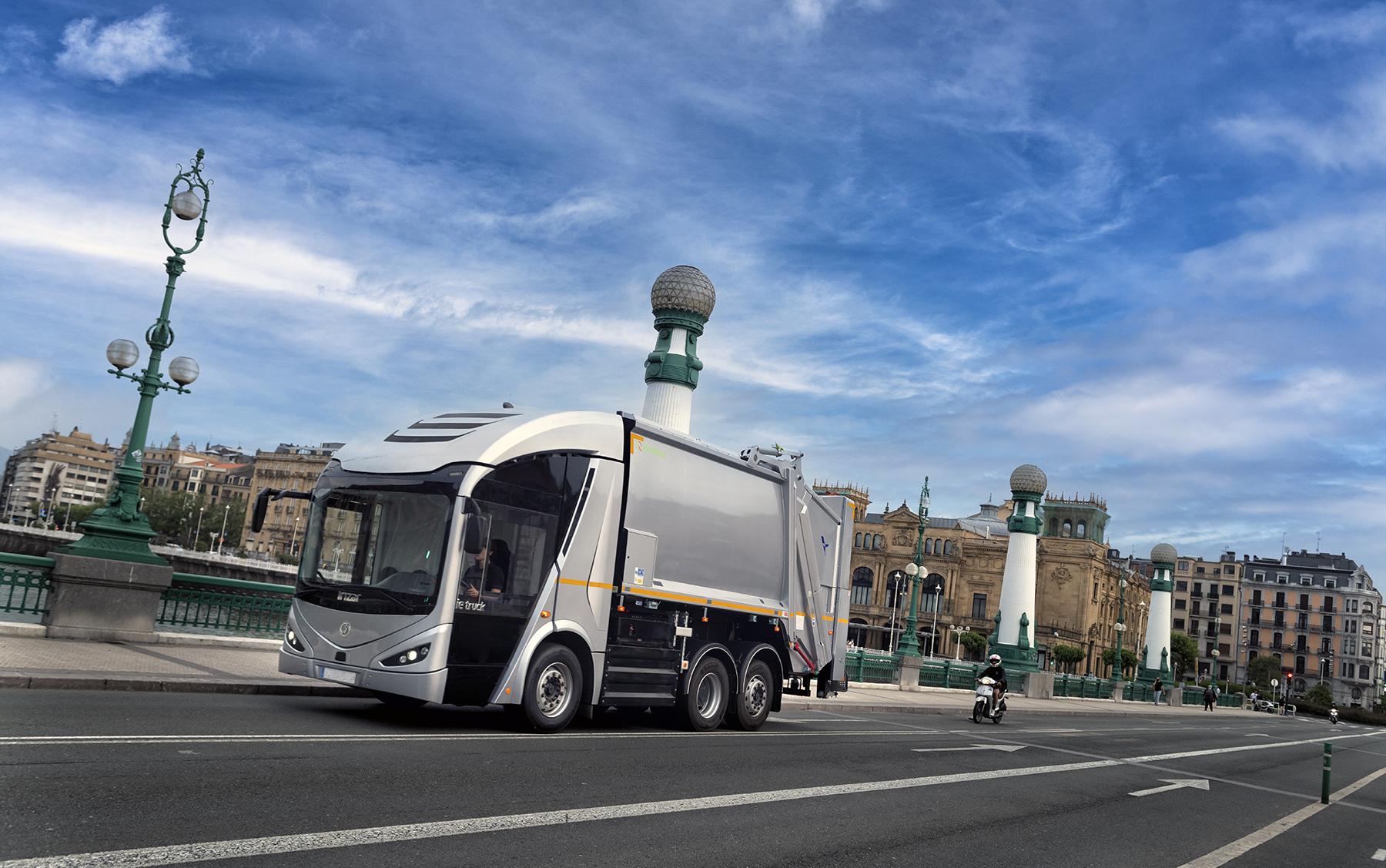FCC Medio Ambiente Zero Emissions Irizar ie Truck